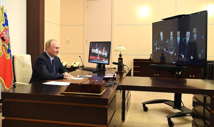 Владимир Путин дал старт новому фармацевтическому производству в Братске