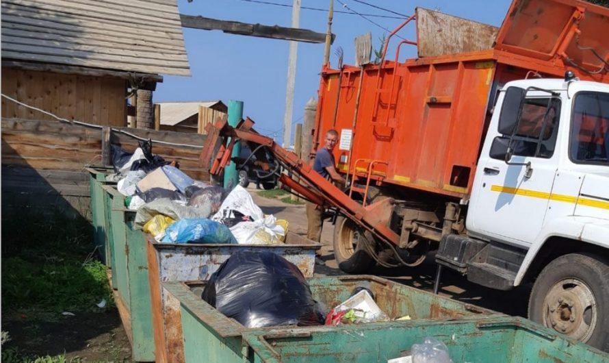 """17 тонн """"туристических отходов"""" вывезено с Ольхона за июль"""